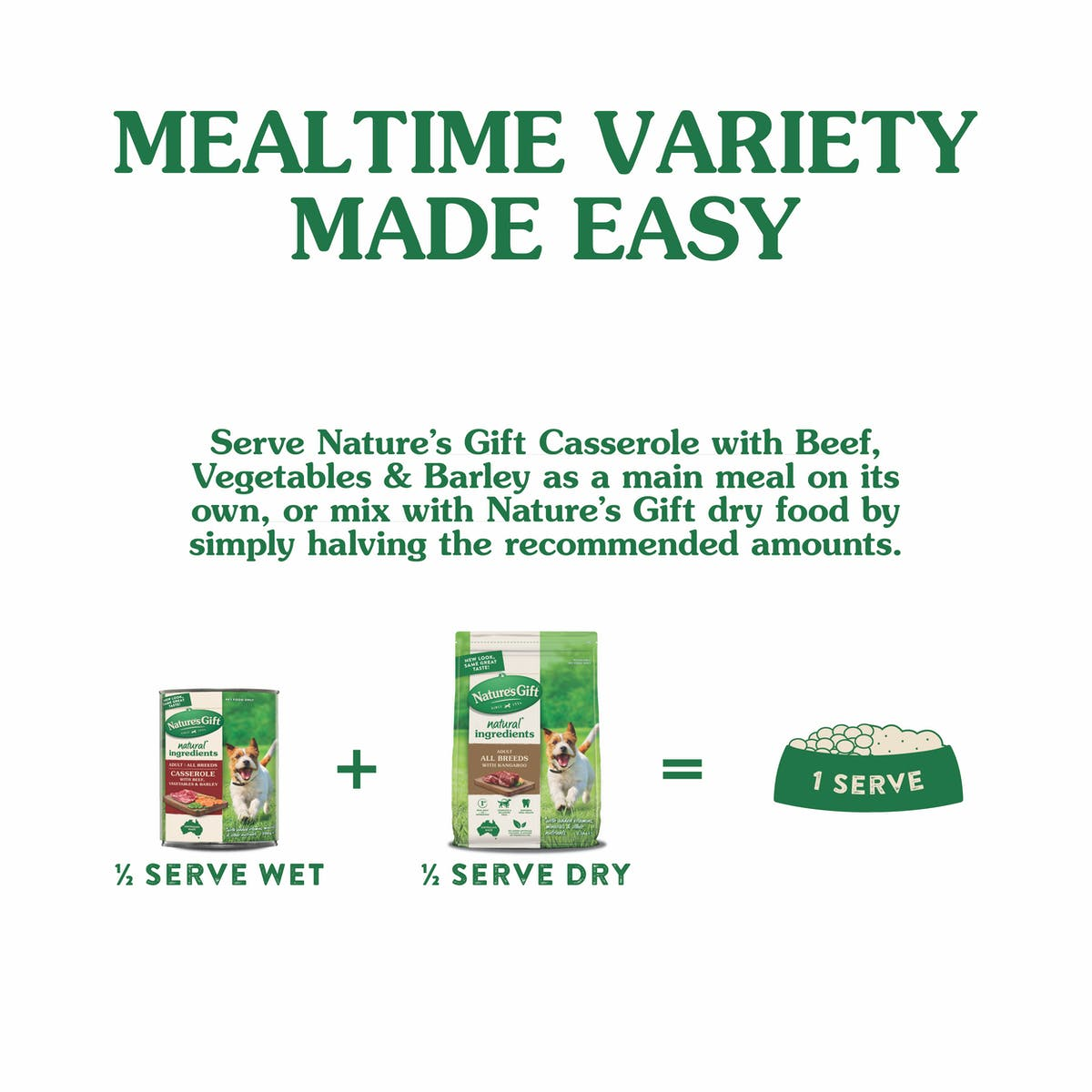Nature's Gift | with Beef, Barley & Vegetables | Wet dog food