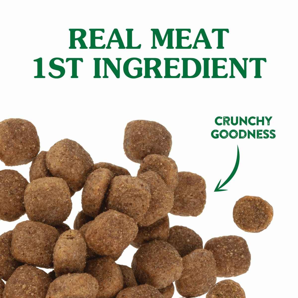 Nature's Gift   Large Breed with Chicken & Mixed Vegetables   Dry dog food   Left of pack