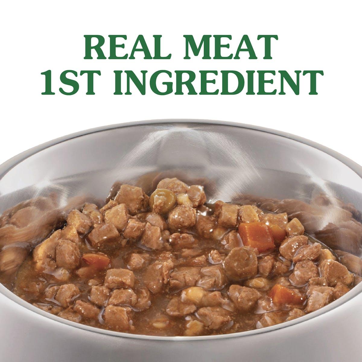 Nature's Gift | Chicken, rice & vegetables | Wet dog food | Left of pack
