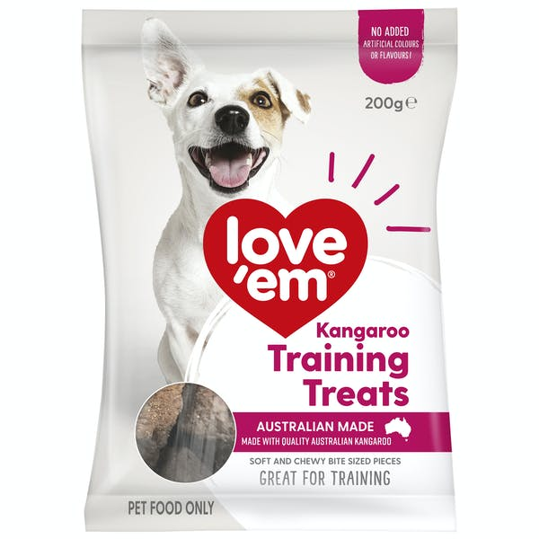 Love'em | Kangaroo | Train dog | Front of pack