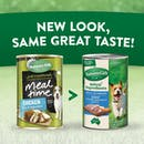 Nature's Gift | Chicken, rice & vegetables | Wet dog food | Back of pack