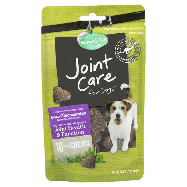 Nature's Gift | Joint care | Dog treats | Front of pack