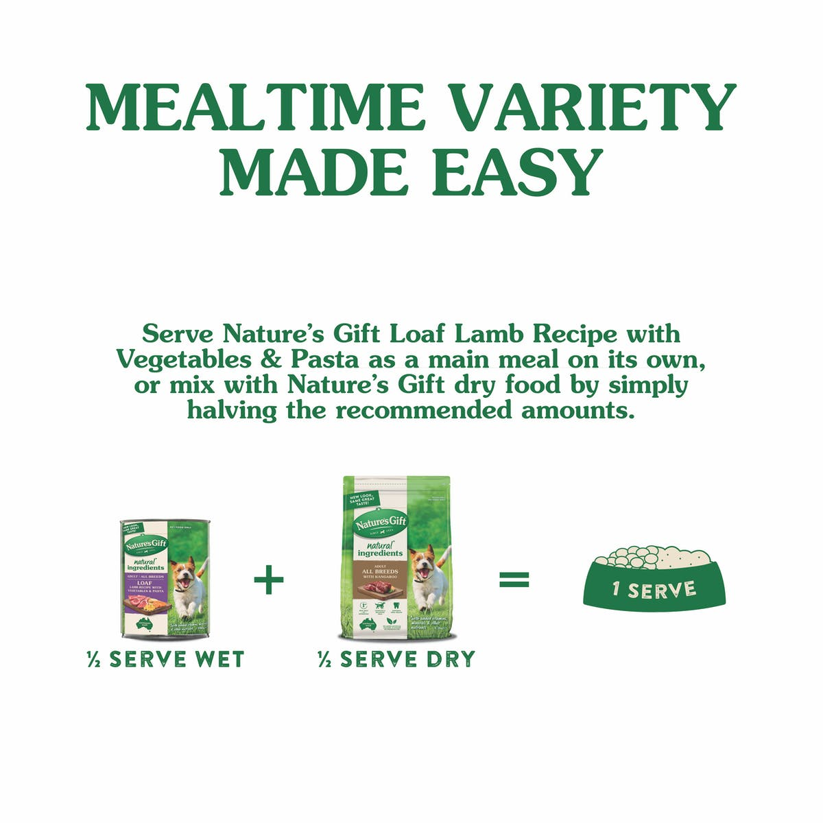Nature's Gift | Lamb Recipe with Pasta & Vegetable | Wet dog food