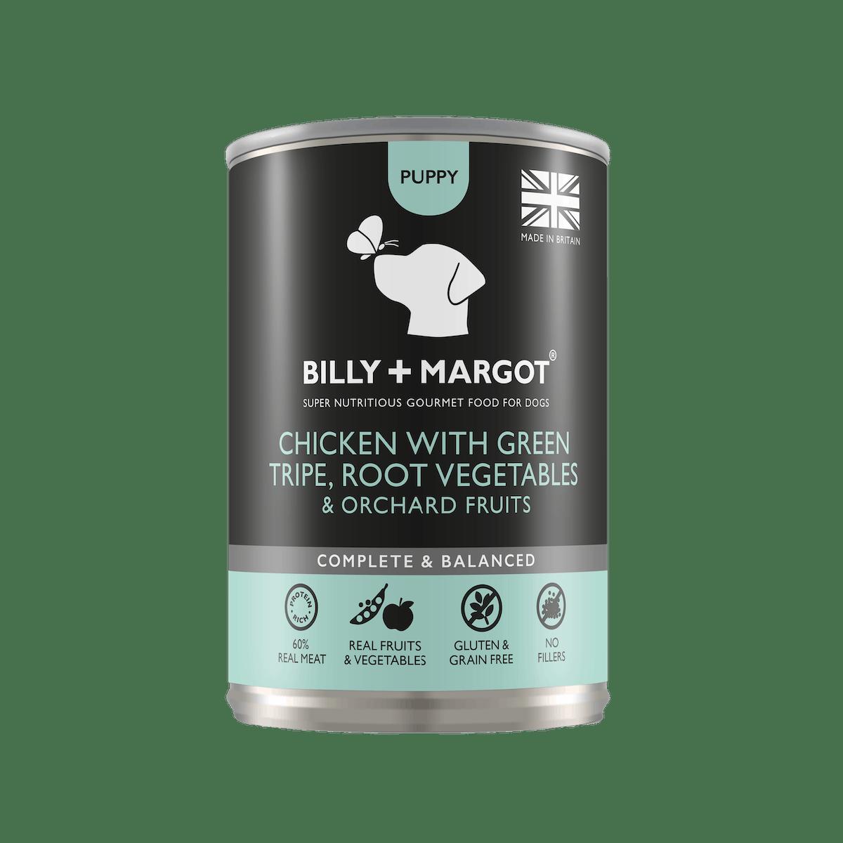 Billy + Margot®   Chicken   Wet dog food   Front of pack