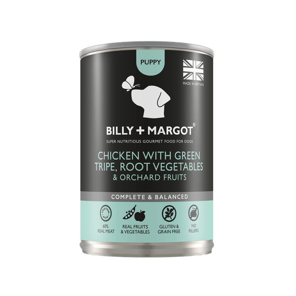 Billy + Margot® | Chicken | Wet dog food | Front of pack