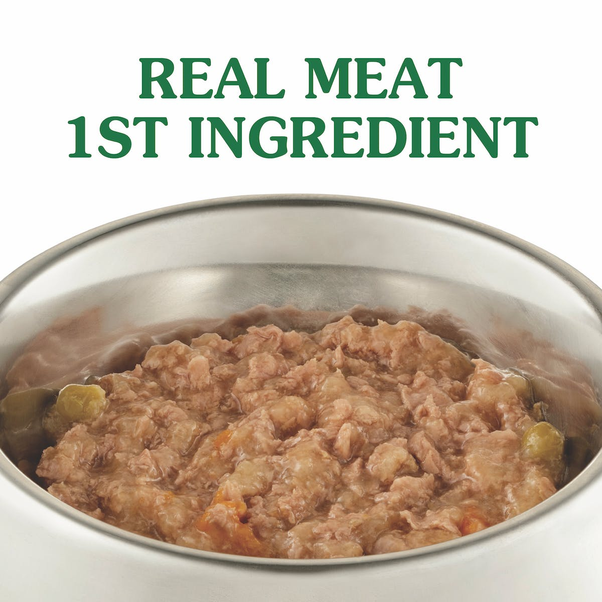 Nature's Gift | Chicken, Carrots & Peas | Wet dog food | Left of pack