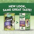 Nature's Gift | Lamb, Vegetable & Barley | Wet dog food | Back of pack