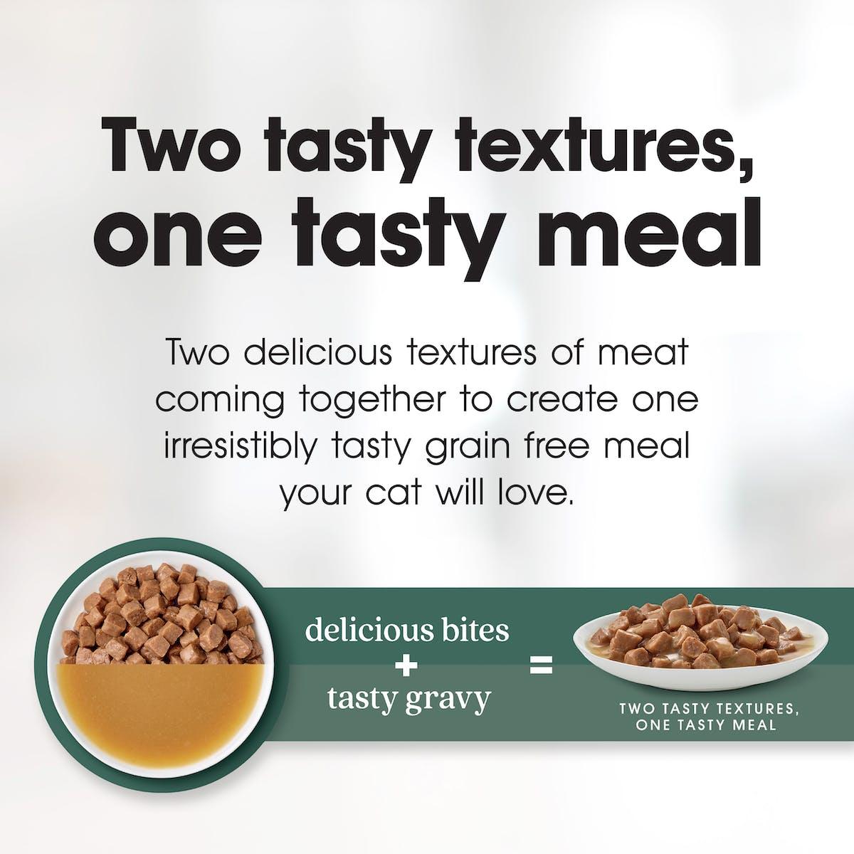 Fussy Cat | Bites & Gravy Favourites | Wet Cat Food | Bottom of pack