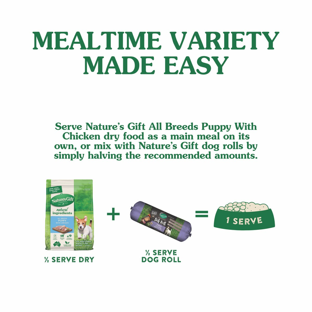 Nature's Gift | Chicken | Dry dog food