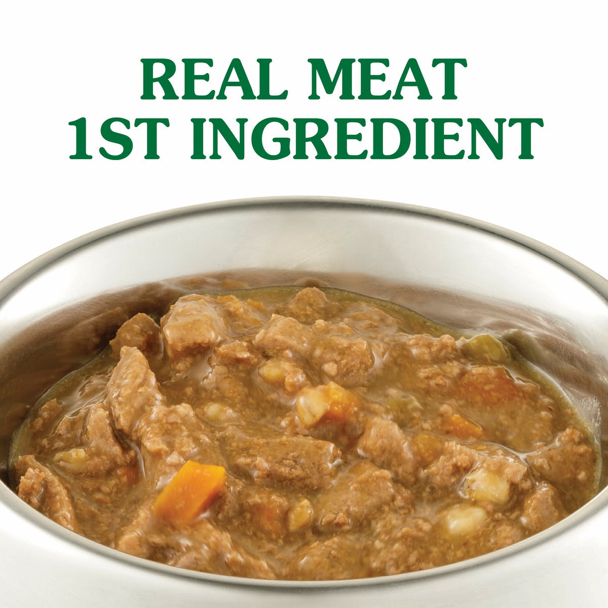 Nature's Gift | Beef, Vegetable & Barley | Wet dog food | Left of pack