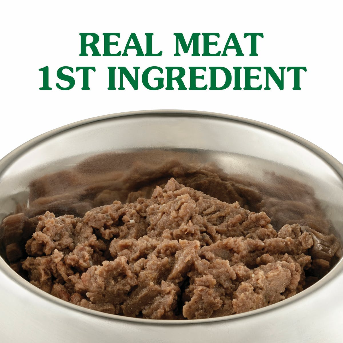 Nature's Gift | Beef & Kidney with Chia | Wet dog food | Left of pack