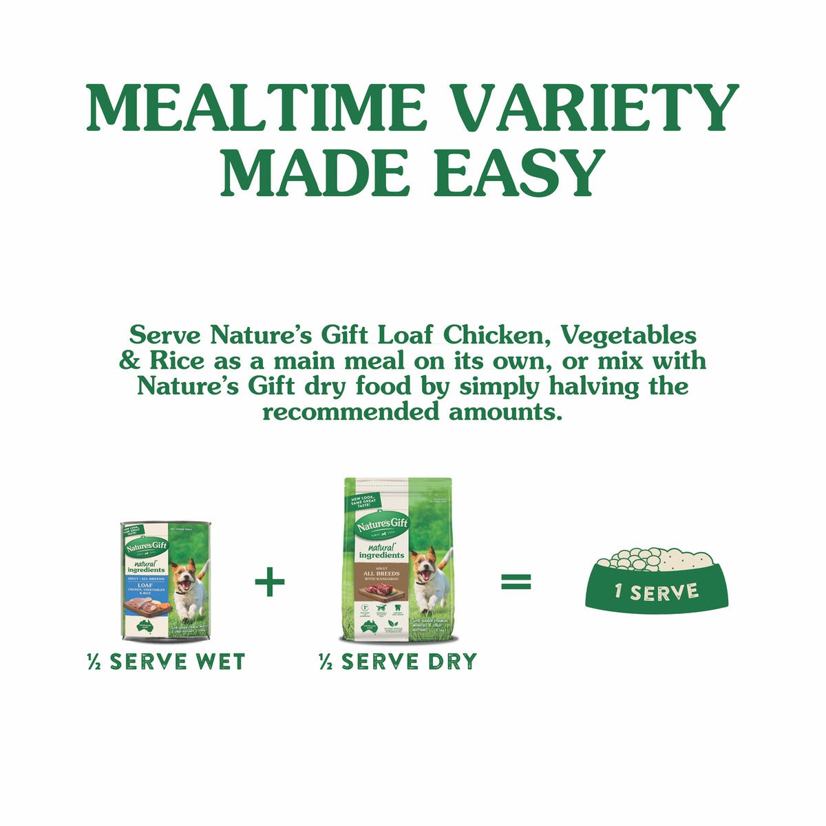 Nature's Gift | Chicken, rice & vegetables | Wet dog food