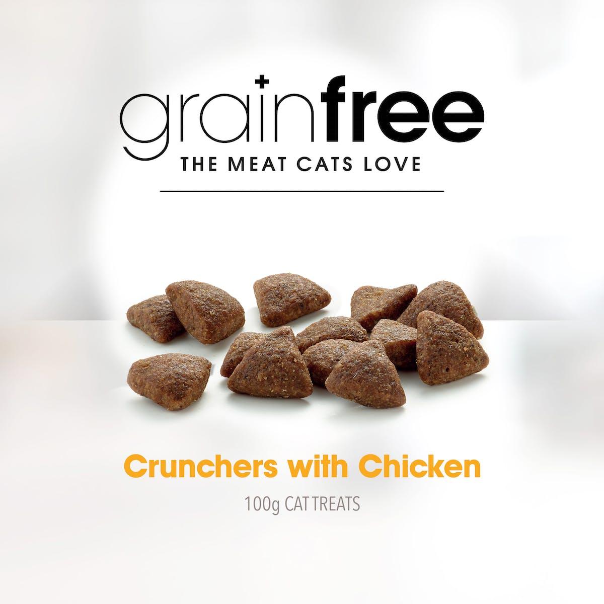 Fussy Cat | Chicken Treats 100g | Cat treats | Right of pack