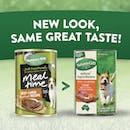 Nature's Gift | Beef & Liver Meatloaf Recipe | Wet dog food | Back of pack