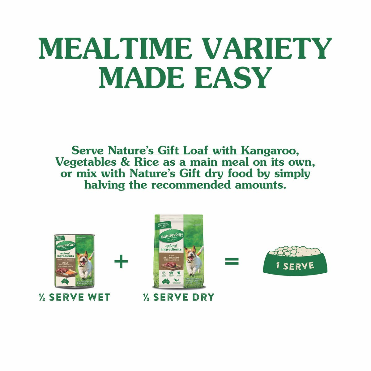 Nature's Gift | Kangaroo, Rice & Vegetables | Wet dog food