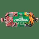 Billy + Margot®   Lamb, Vegetables + Superfood Blend   Chilled Dog Food   Front of pack