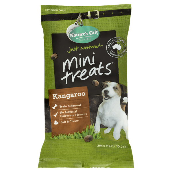 Nature's Gift | Kangaroo | Dog treats | Front of pack