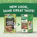 Nature's Gift | Kangaroo, Rice & Vegetables | Wet dog food | Back of pack