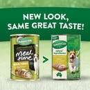 Nature's Gift | Chicken, Turkey & Vegetables | Wet dog food | Back of pack