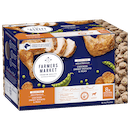 Farmers Market | Grain Free Chicken, Sweet Potato and Peas Meatballs | Chilled dog food | Front of pack