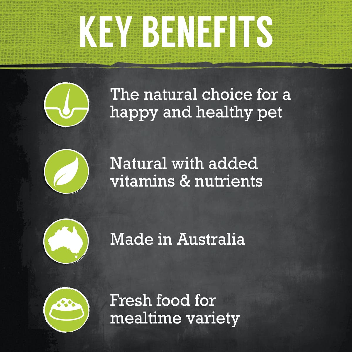 Nature's Gift | Kangaroo, Sweet Potato & Peas | Chilled dog food | Left of pack