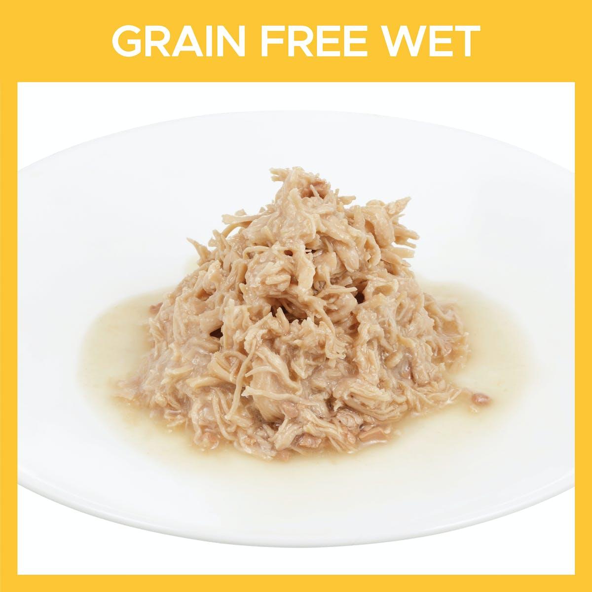 Fussy Cat | Shredded Chicken & Liver in Gravy 85g | Wet Cat Food | Bottom of pack