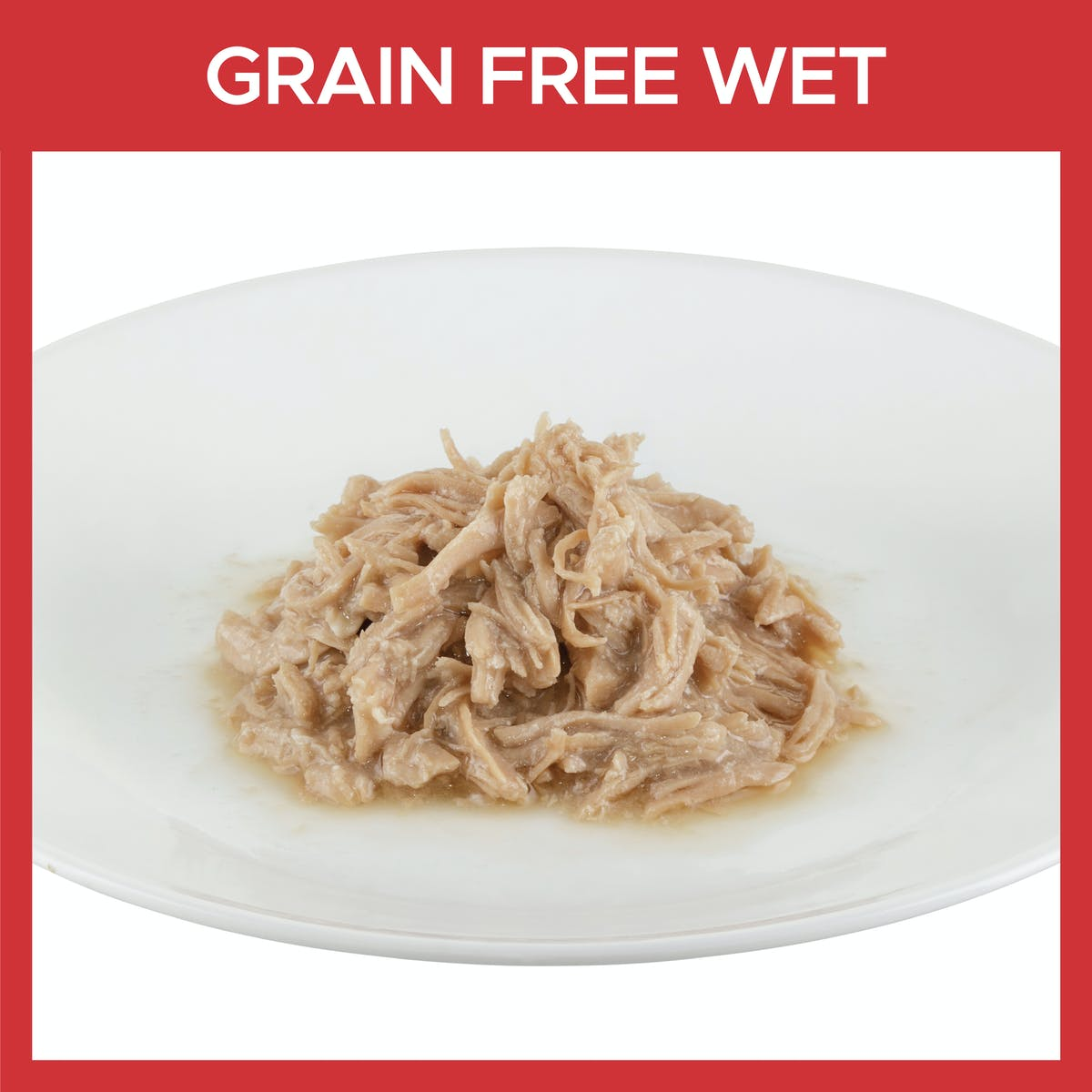 Fussy Cat | Shredded Chicken in Gravy 85g | Wet Cat Food | Bottom of pack