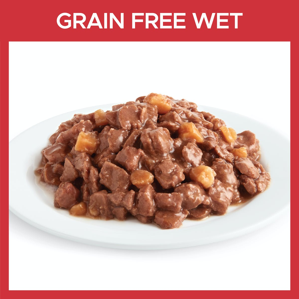 Fussy Cat | Beef and Kangaroo with Sweet Potato 9 x 85g | Wet Cat Food | Bottom of pack