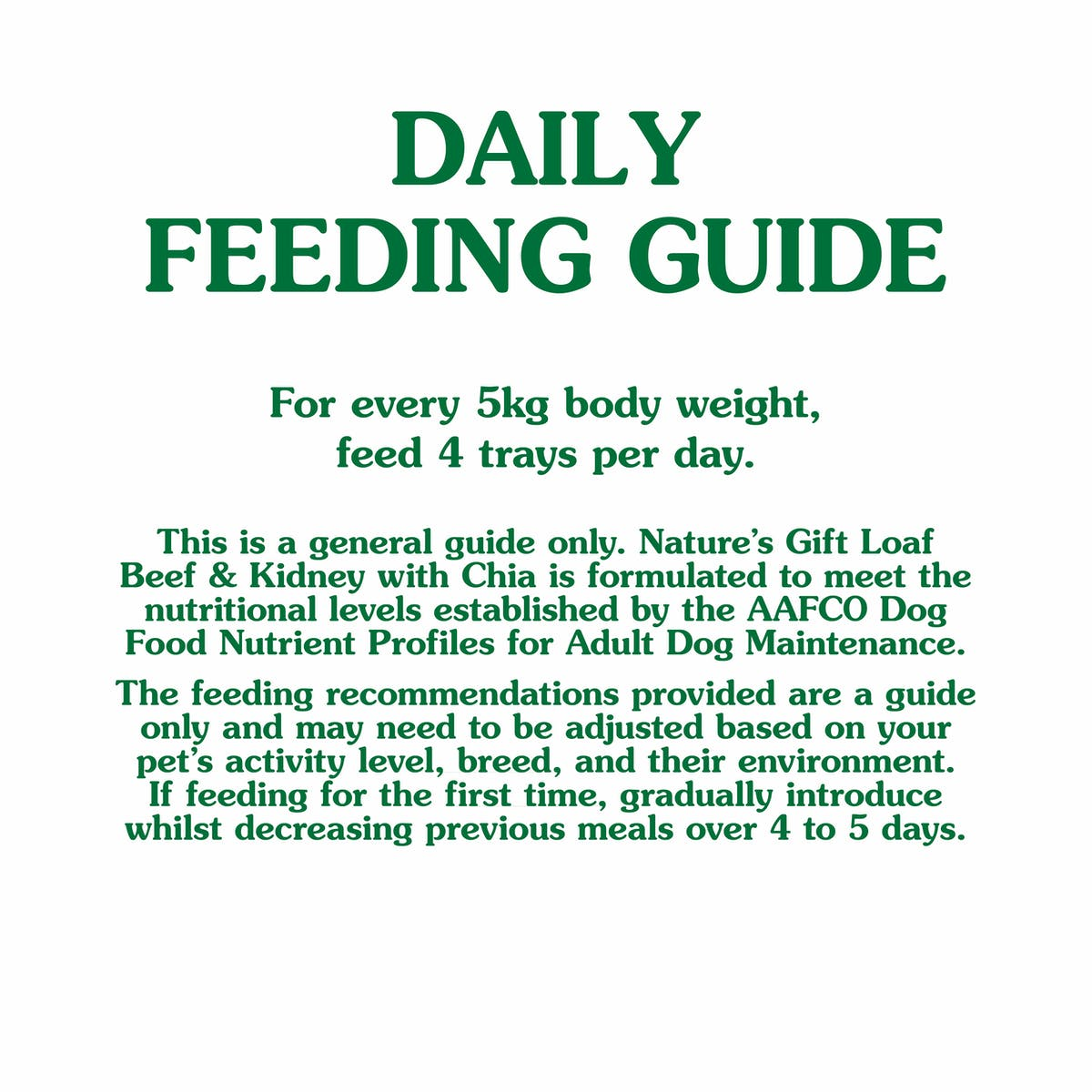 Nature's Gift | Beef & Kidney with Chia | Wet dog food