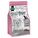 Fussy Cat | Kitten Oceanfish with Olive Oil | Dry cat food | Left of pack