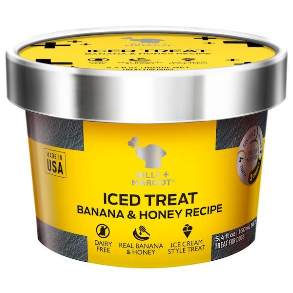 Billy + Margot® | Banana & Honey Recipe | Dog treats | Front of pack
