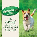 Nature's Gift | Beef | Dry dog food | Top of pack