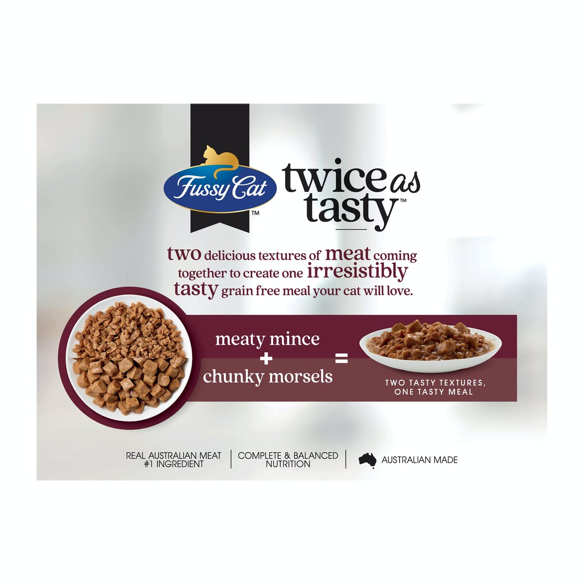 Fussy Cat   Mince & Morsels   Wet Cat Food   Back of pack