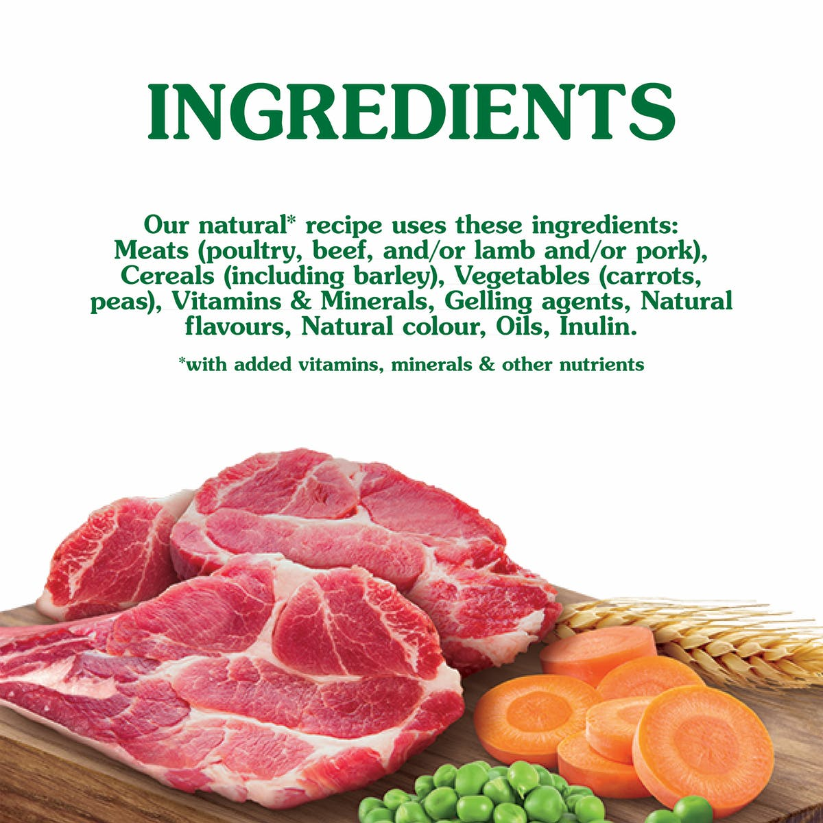 Nature's Gift | Beef, Vegetable & Barley | Wet dog food | Bottom of pack