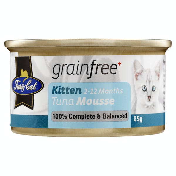 Fussy Cat | Tuna Mousse 85g | Wet Cat Food | Front of pack