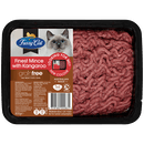 Fussy Cat   Finest Mince with Kangaroo 800g   Chilled cat food   Front of pack