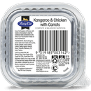 Fussy Cat   Kangaroo and Chicken with Carrots 85g   Wet Cat Food   Back of pack