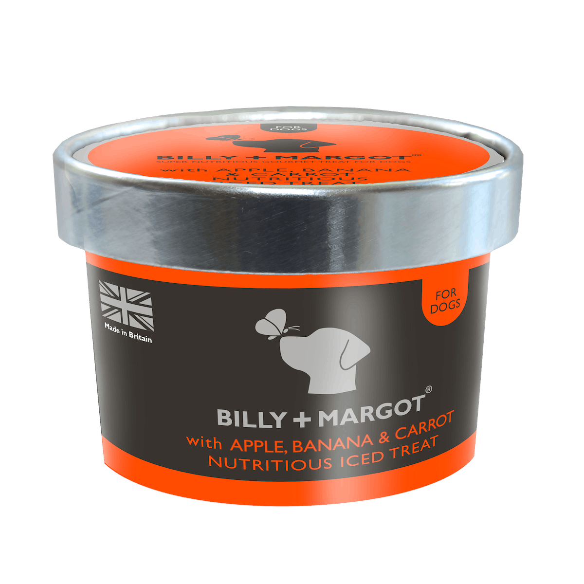 Billy + Margot® | Banana, Apple & Carrot Recipe | Iced Treats | Front of pack